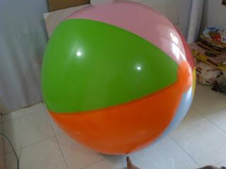 balon pantai 1 meter