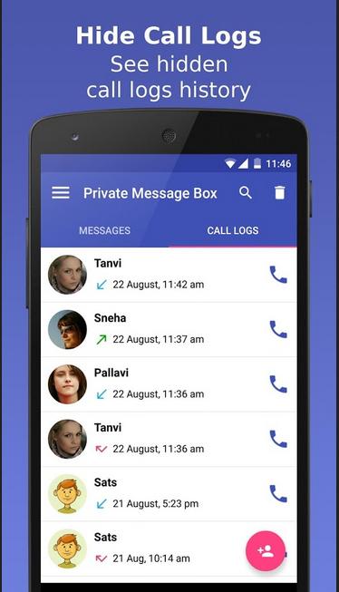 private message box app cover