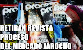 DESAPARECEN A LA REVISTA PROCESO EN VERACRUZ; JÓVENES COMPRAN TODOS LOS EJEMPLARES