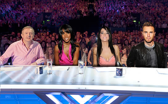 X Factor Judges 2011 Names Haynester: mai ...