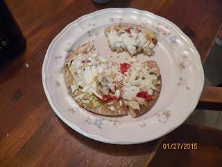 Chicken Pesto Personal Pizza 1