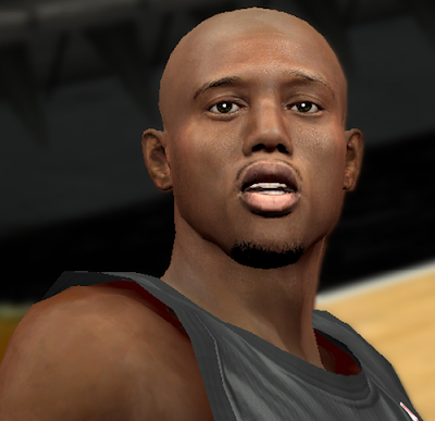 NBA 2K14 Travis Outlaw Hair Update Mod