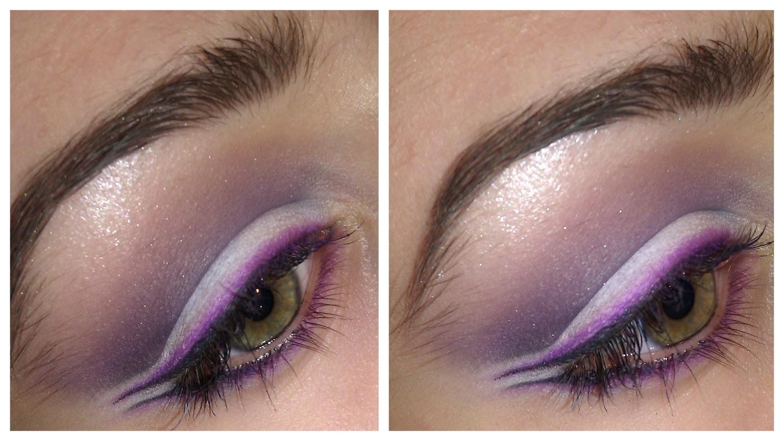 Purple dual eyeliner