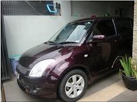 Dijual - Suzuki Swift ST burgundy red 2008