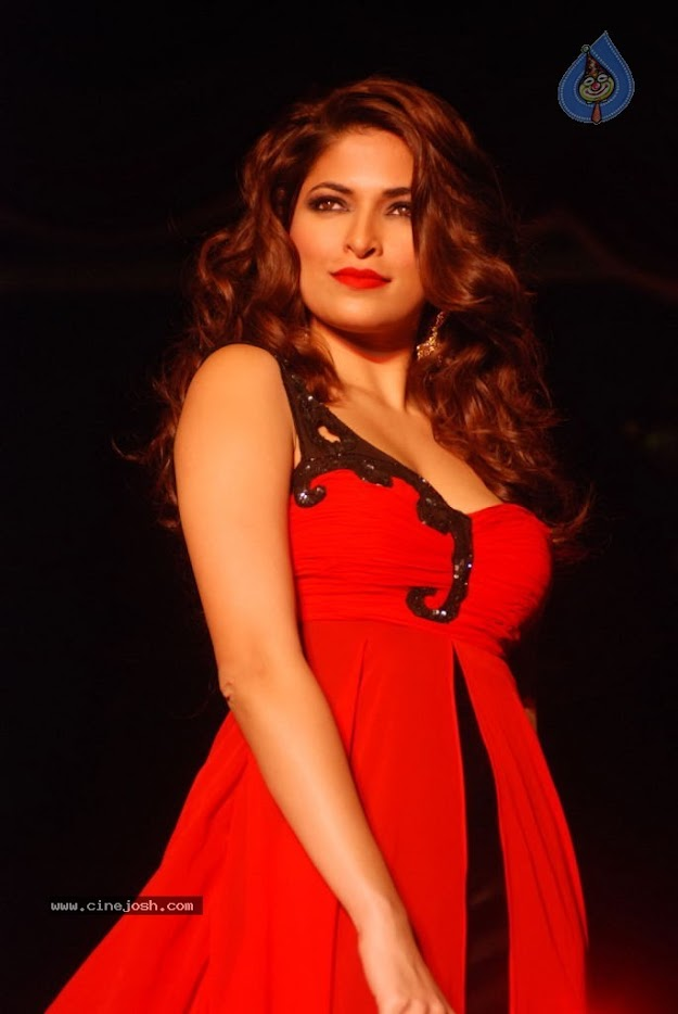 Parvathy Omanakuttan in Red Dress at MATRIX Fashion Show  - Parvathy Omanakuttan at MATRIX Fashion Show in Red Dress