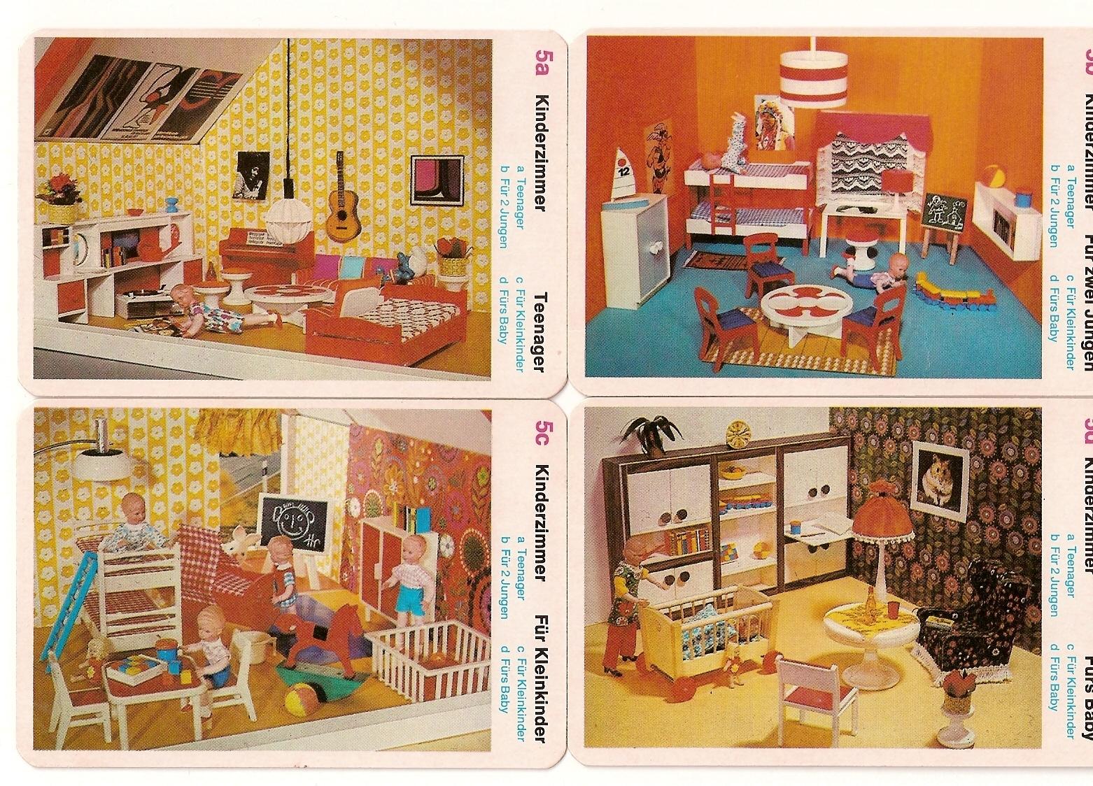 Diepuppenstubensammlerin kinderzimmer modella nurseries for Kinderzimmer 70er