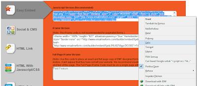 Cara Membuat Halaman Email Me Form