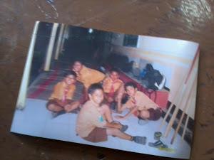 foto saat kemah