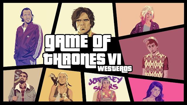Grand Theft Auto Westeros - Juego de Tronos en los siete reinos