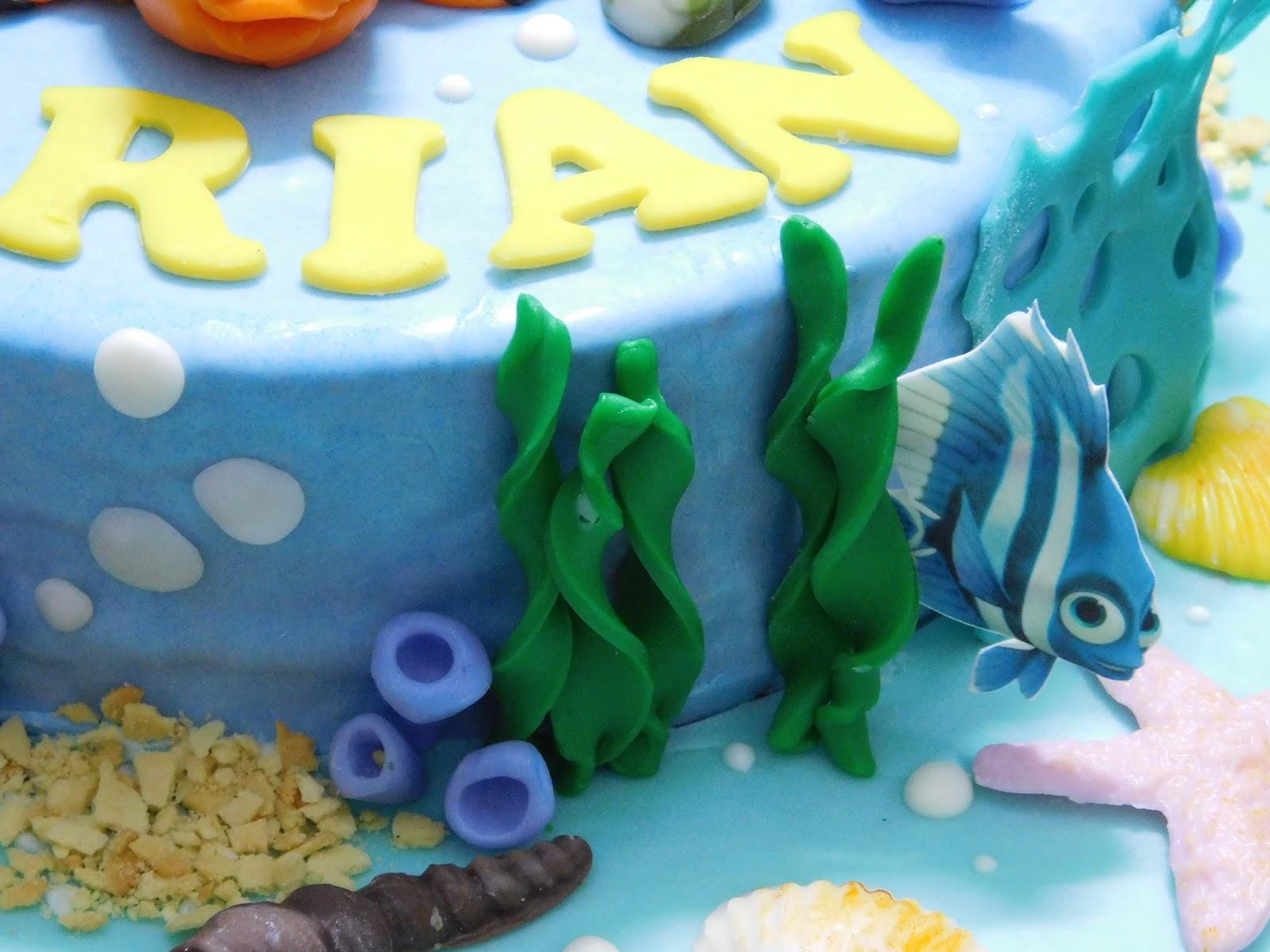 ... KUE | ULANG TAHUN | CAKE | CUPCAKE | TART |: KUE ULANG TAHUN 3D NEMO