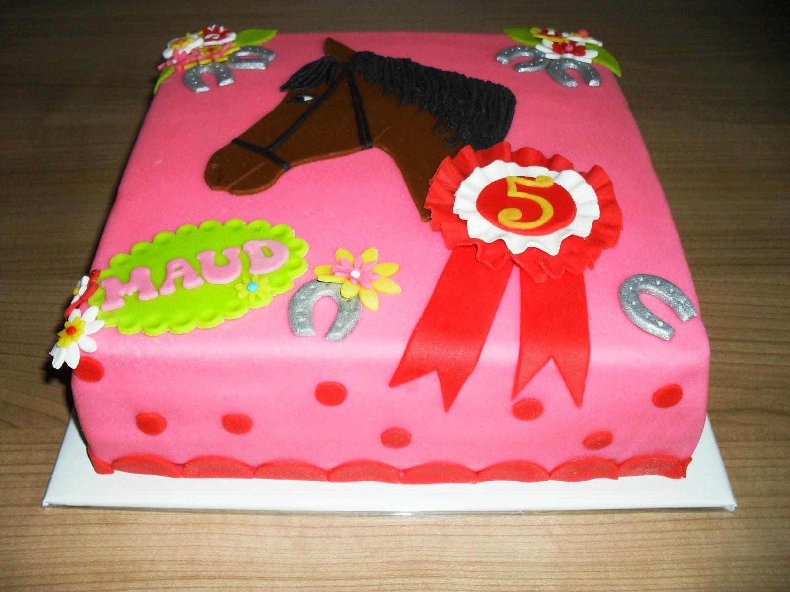 paarden taart bestellen
