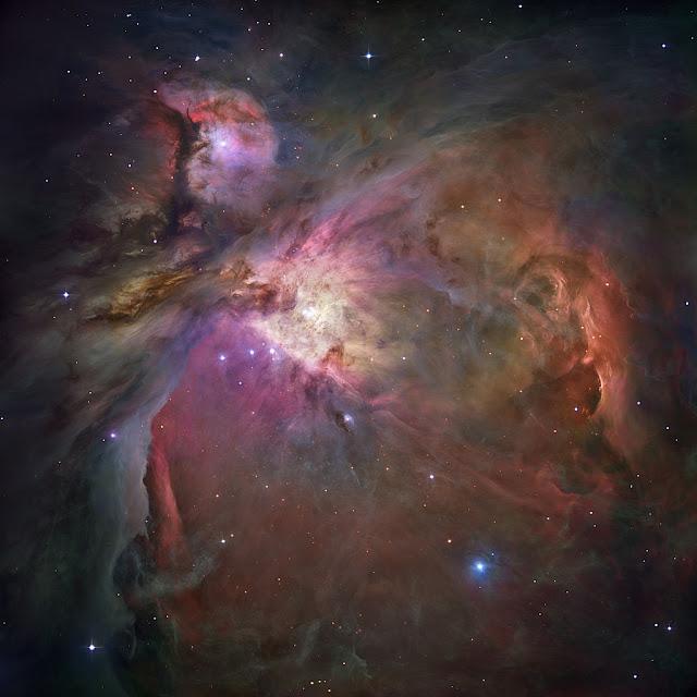 Tinh vân Orion. Hình ảnh : NASA/ESA.