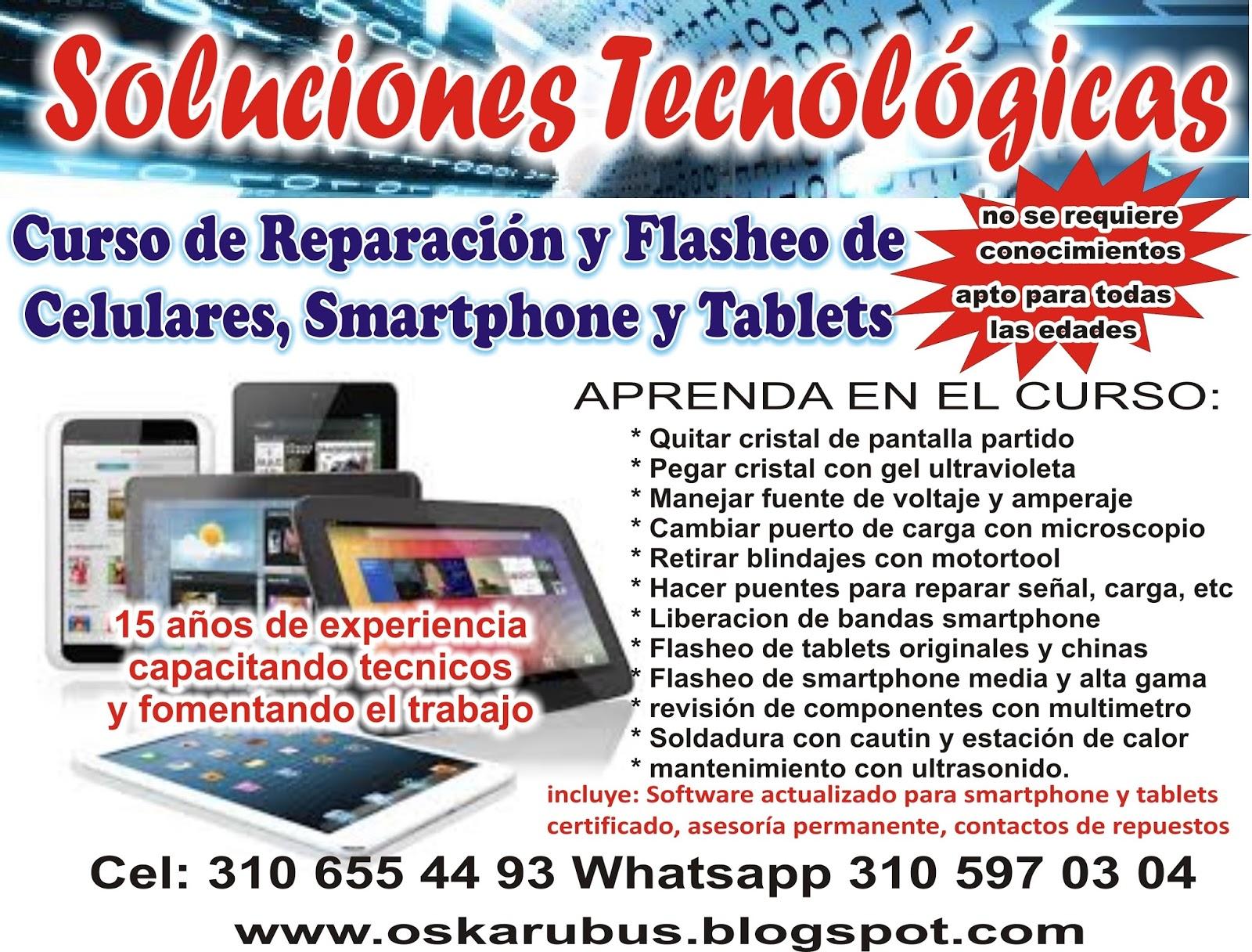 Curso tecnico de celulares