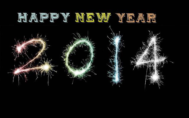 Hình nền chúc mừng năm mới 2014 cực nét - Full HD