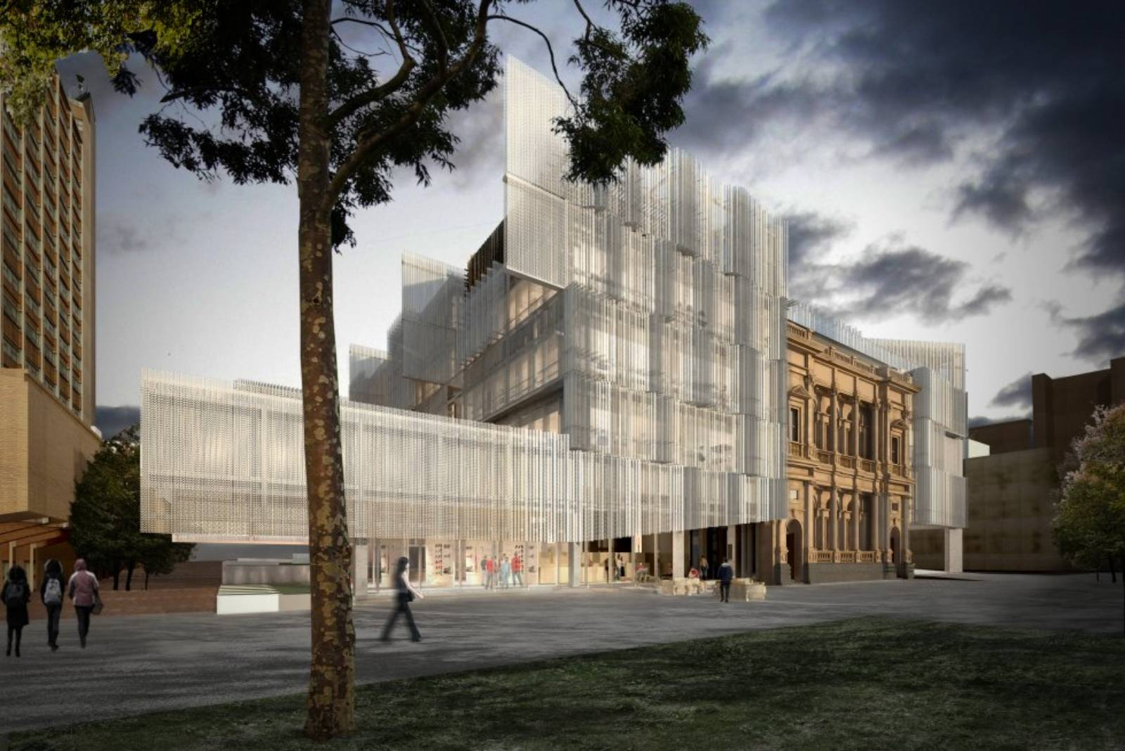University of melbourne by jwa nadaaa for Architecture firms in australia