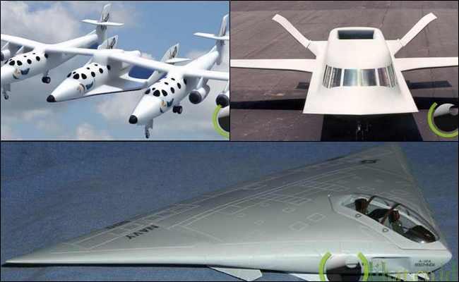 10 Konsep Pesawat Terbang yang paling Terunik di Dunia