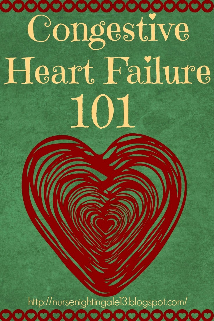 CHF, Congestive Heart Failure, overview, guide, nursing school, nurse, nursing, RN, NCLEX, Cardiac, Med-Surg