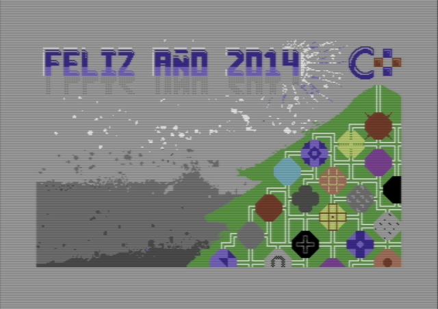 ¡Feliz gravedad y feliz año 2014! Commodore Plus