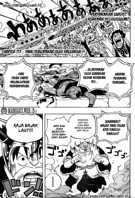 "Download Komik One Piece Chapter 717 ""Yang Terlupakan Oleh Dressrosa"" Bahasa Indonesia"