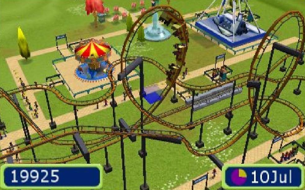 parc attraction 3d