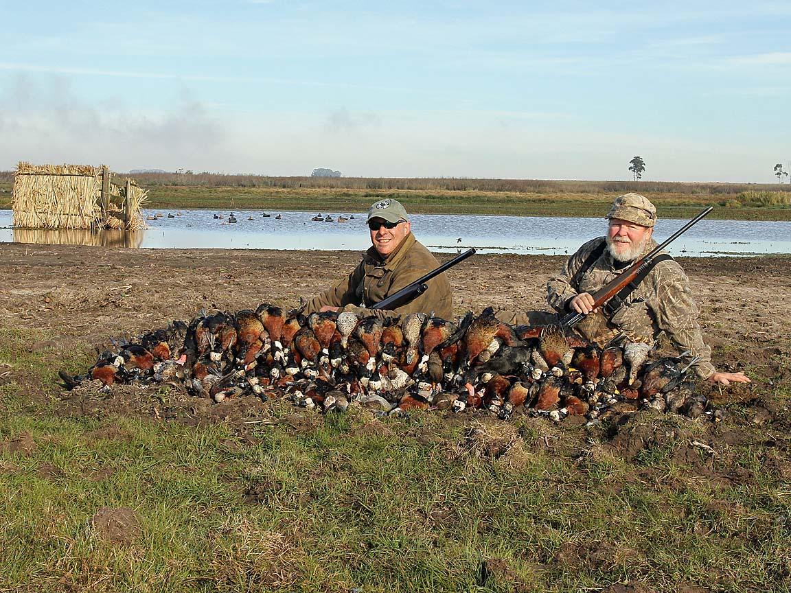 Ramsey Russell S Getducks Com Journal Uruguay Duck Hunt