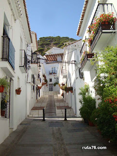 Calle san sebastián de Mijas Pueblo