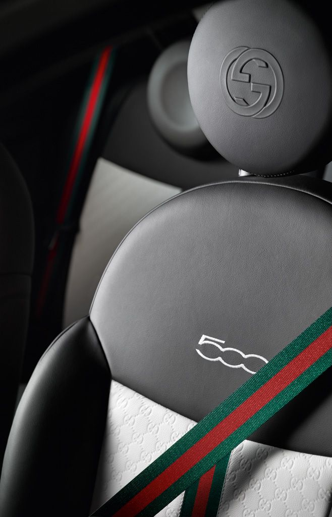 newsgallery gucci 39 s first car the fiat 500 gucci edition 2011. Black Bedroom Furniture Sets. Home Design Ideas