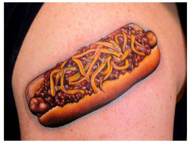 chili dog Nikki Hurtago