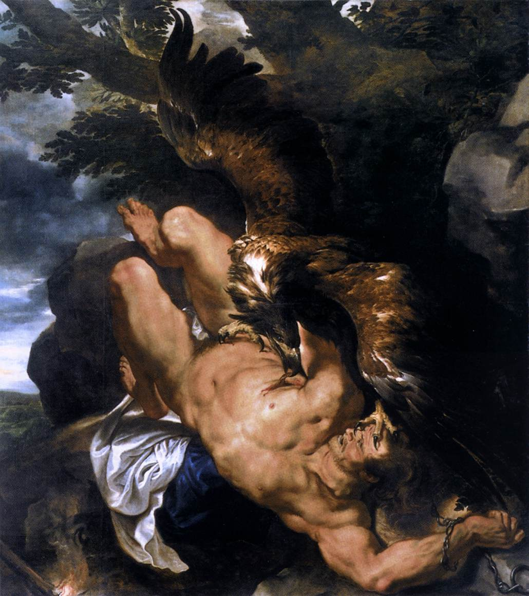prometheus greek mythology Prometheus was one of the titans, son of iapetus (also a titan) and clymene, an oceanid his brothers were epimetheus, atlas and menoetius the name d.