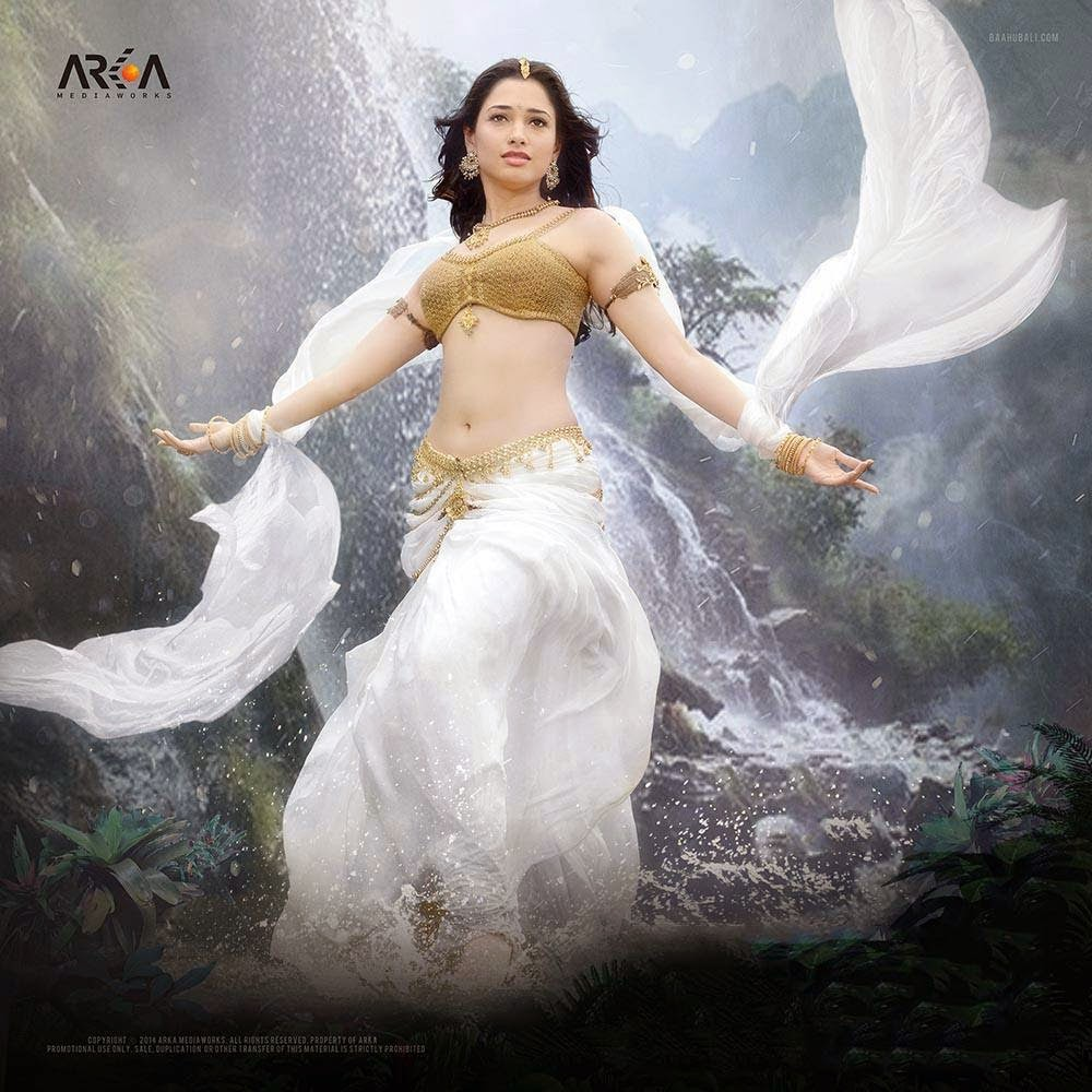 Tamanna in Baahubali Movie First Look Poster