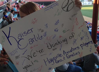 Support for Kaiser Carlile of Liberal Bee Jays