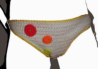 Biquini, bikini o bañador de ganchillo o crochet