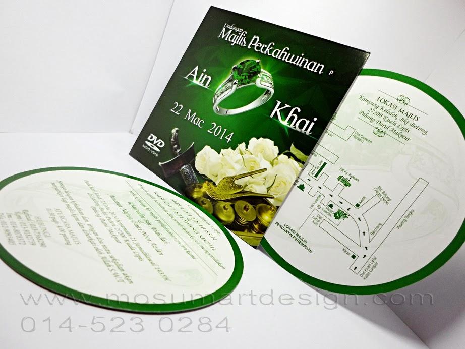 Design Kad Kahwin Murah Kreatif10