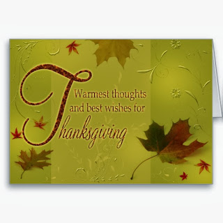 Thanksgiving Cards, part 2