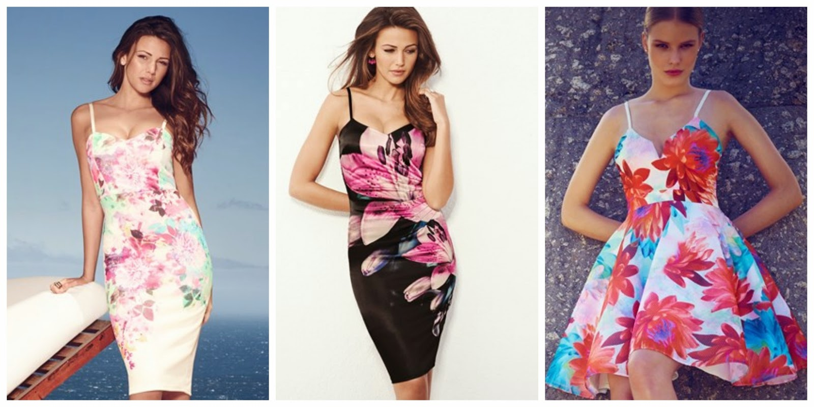 Floral Printed Dresses from Lipsy