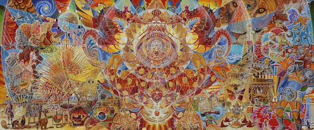 DMT and the Persistent Illusion  DMT-Artwork
