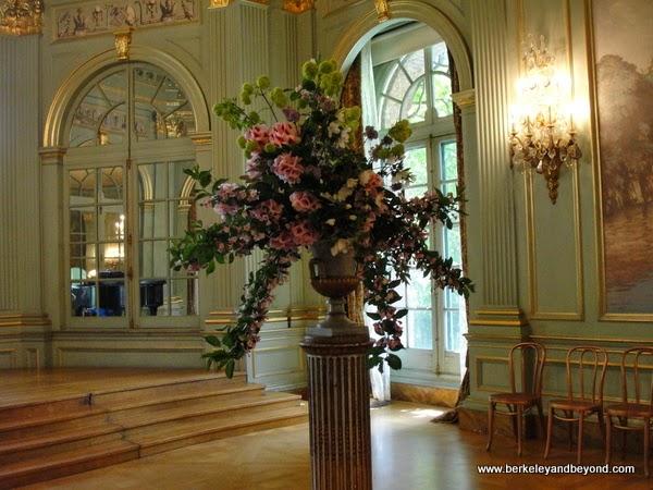 ballroom in mansion at Filoli in Woodside, California
