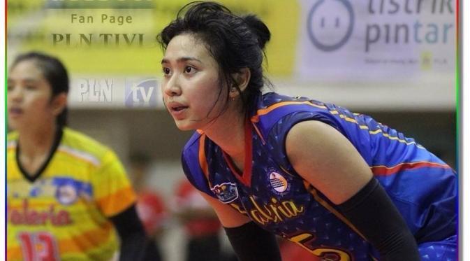 Yolla Yuliana atlet voli indonesia