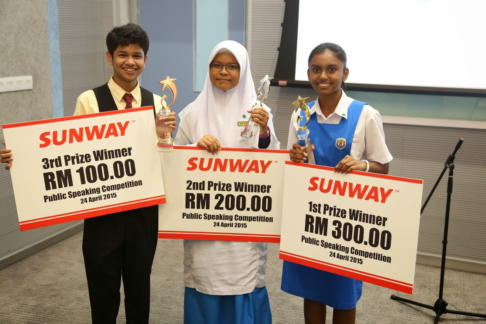 Sunway Public Speaking Competition 2015