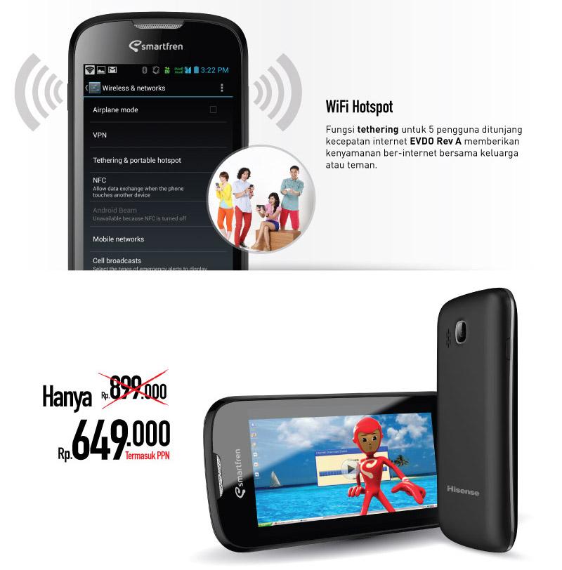 Harga Smartfren Andromax C Android Smartphone
