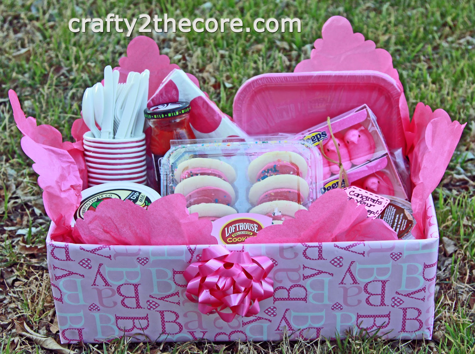 ~Meal Box~ A creative idea for taking a meal to someone. Change it up for a new baby, illness, death in the family, etc.~ by Crafty 2 the Core~
