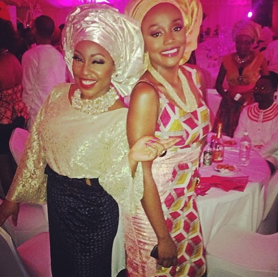 rita dominic tiwa savage wedding