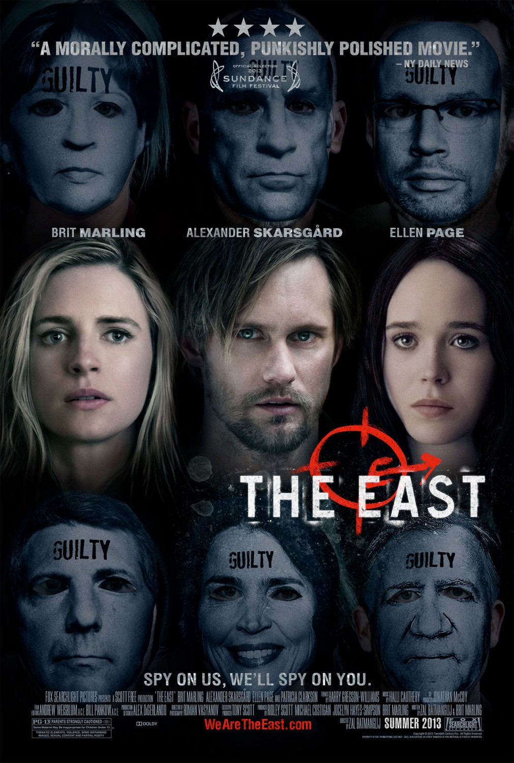 The East (2013) BrRip 1080p Ing-Latino