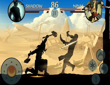 لعبة قتال الظل 2 Shadow Fight