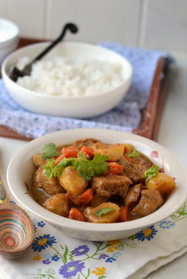 Vegetarian Thai Massaman Curry