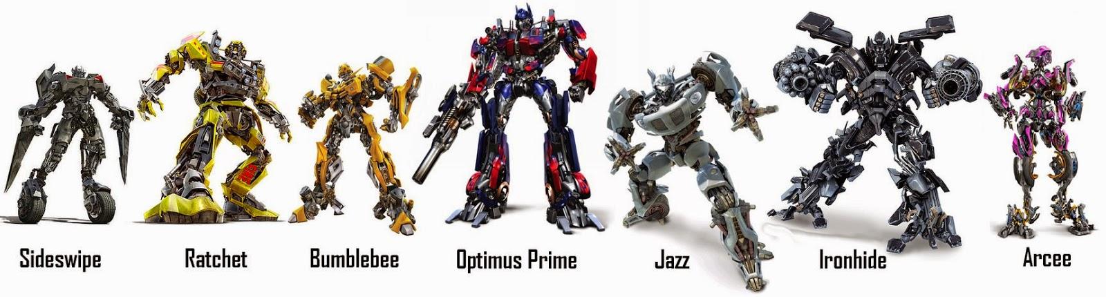 Фото героев трансформеры