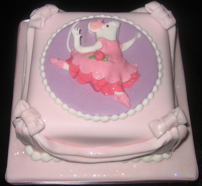 Birthday Cake Ki Images : Birthday Cake: Angelina Ballerina Cake