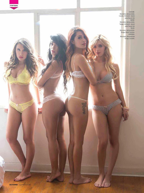Las Chicas de Acapulco Shore Revista SoHo México Septiembre 2015