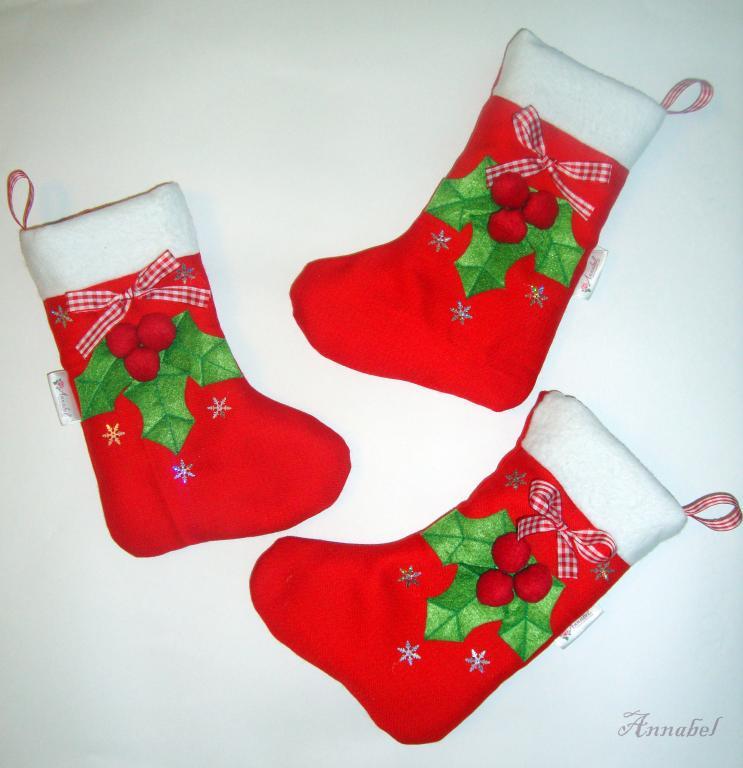 Рождественский носки своими руками