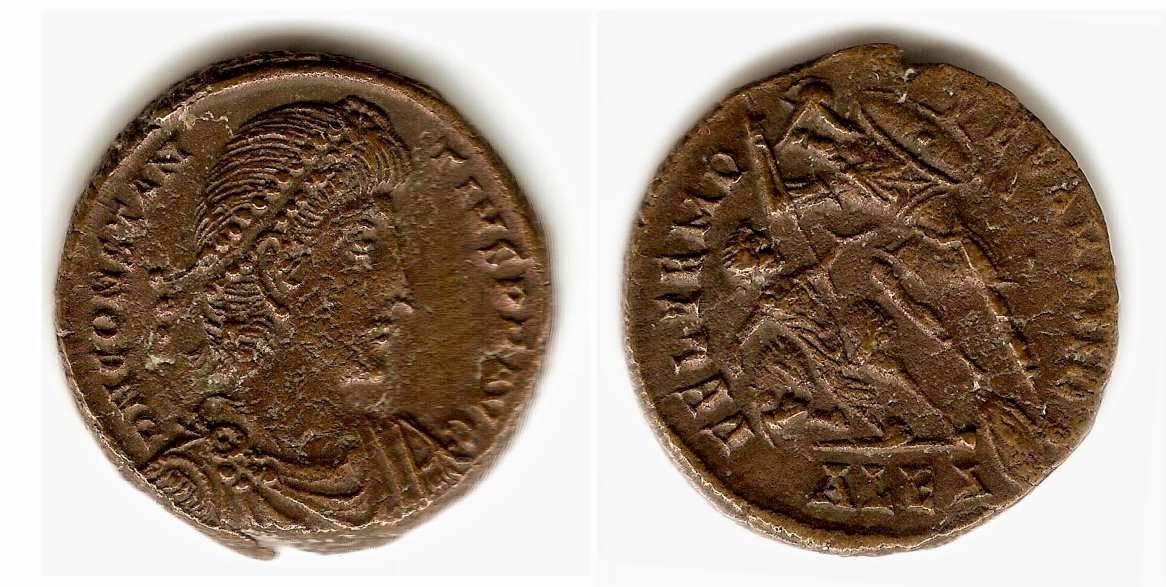 Moneda romana y fideicomiso